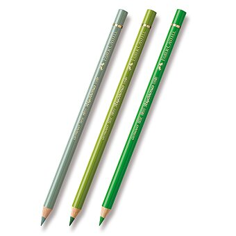 Obrázek produktu Pastelka Faber-Castell Polychromos - zelené odstíny - výběr barev