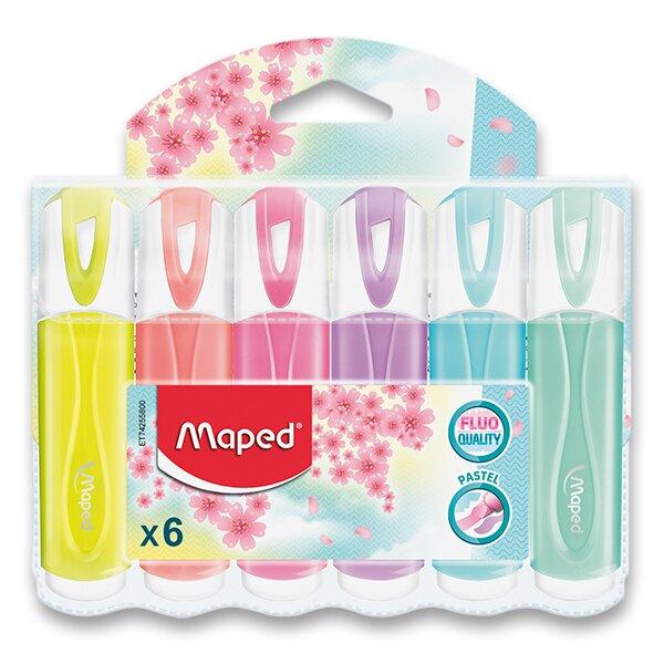 Zvýrazňovač Maped Fluo Peps Pastel