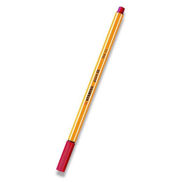 Liner Stabilo Point 88 karmínový