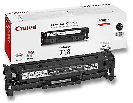 Obrázek produktu Toner Canon CRG-718 pro laserové tiskárny - black (černý)