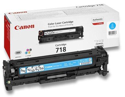 Obrázek produktu Toner Canon CRG-718 pro laserové tiskárny - cyan (modrý)