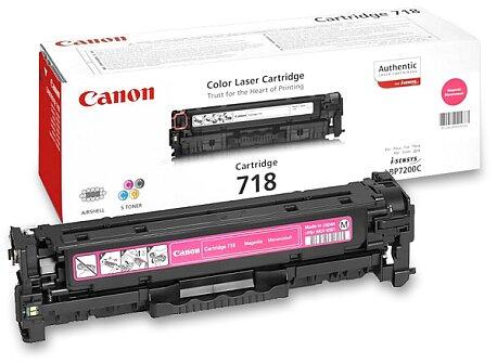 Obrázek produktu Toner Canon CRG-718 pro laserové tiskárny - magenta (červený)