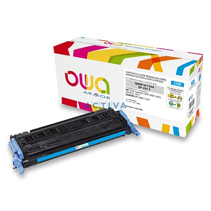 Obrázek produktu Armor - toner Q6001, cyan (modrá) pro laserové tiskárny