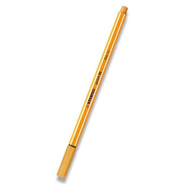 Liner Stabilo Point 88 oranžový