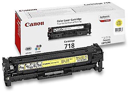 Obrázek produktu Toner Canon CRG-718 pro laserové tiskárny - yellow (žlutý)