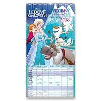 Nástěnný kalendář - Ledové království