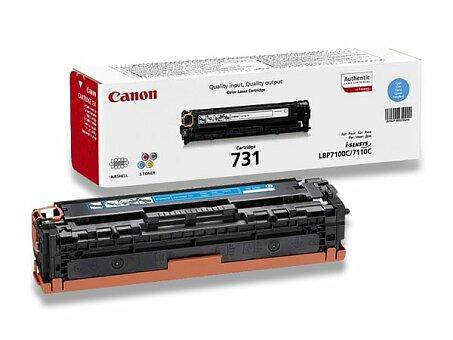 Obrázek produktu Toner Canon CRG-731 pro laserové tiskárny - cyan (modrý)