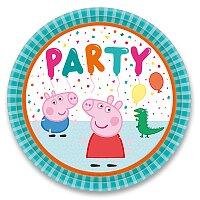 Papírové talířky Peppa Pig