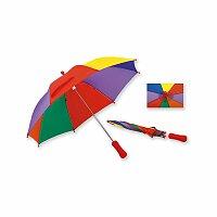 BAMBI - polyesterový dětský deštník s manuálním otvíráním, 8 panelů