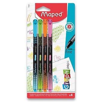 Obrázek produktu Liner Maped Graph´Peps Deco - 4 ks, pastelové barvy