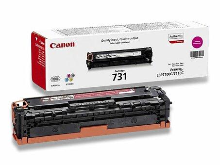 Obrázek produktu Toner Canon CRG-731 pro laserové tiskárny - magenta (červený)
