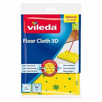 Obrázek produktu Hadr na podlahu Vileda - 60 x 50 cm, žlutý