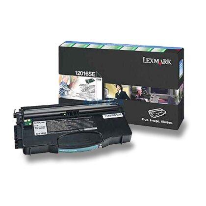 Obrázek produktu Lexmark - toner 12016SE, black (černý) pro laserové tiskárny