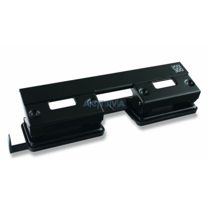Product image Sax 300 - 4 hole office punch with paper measuring guide
