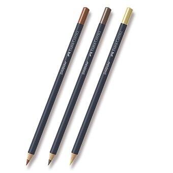 Obrázek produktu Pastelka Faber-Castell Goldfaber - hnědé a metalické odstíny - výběr barev