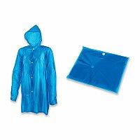 SPLASH - igelitová pláštěnka, modrá