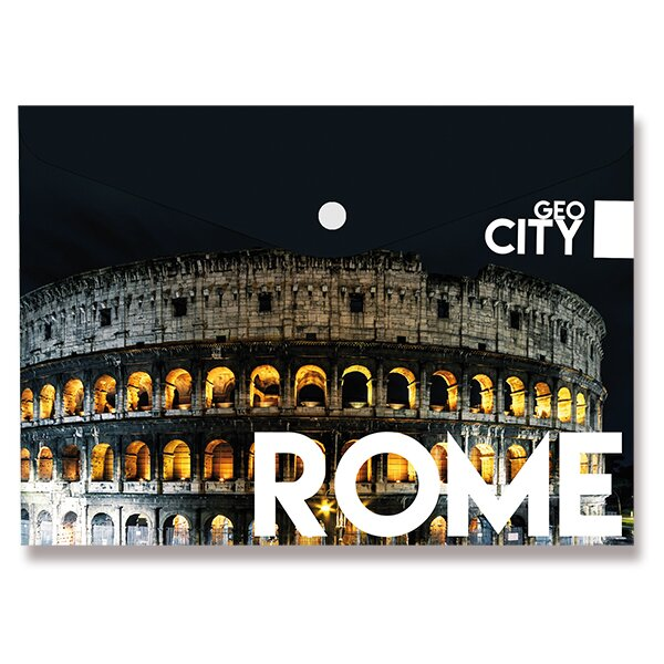 Spisové desky Design s drukem Řím