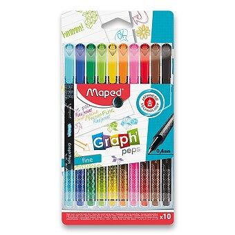 Obrázek produktu Liner Maped Graph´Peps Deco - sada 10 barev