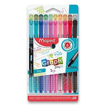 Obrázek produktu Liner Maped Graph´Peps Deco - sada 20 barev