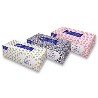 Obrázek produktu Papírové kapesníky Linteo - 2vrstvé, 200 ks v boxu