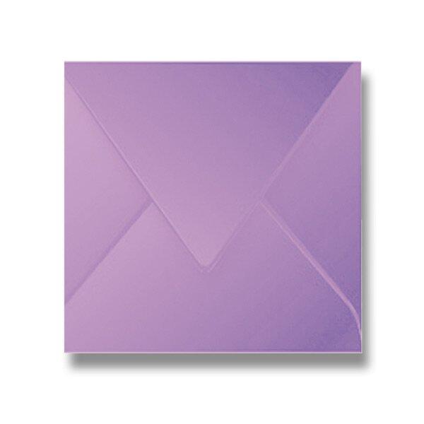 Barevná obálka Clairefontaine fialová, 165 × 165 mm