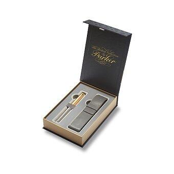 Obrázek produktu Parker Urban Premium Aureate Powder GT - plnicí pero, dárková sada s pouzdrem