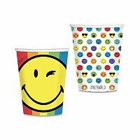 Papírové kelímky Smiley World