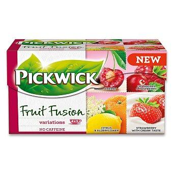 Obrázek produktu Ovocný čaj Pickwick Fruit Fusion variace s třešní - 4 x 5 sáčků