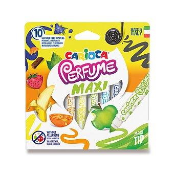 Obrázek produktu Dětské fixy Carioca Parfume Maxi - sada 10 barev