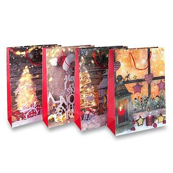 Obrázek produktu Dárková taška Vánoce - různé rozměry, mix motivů