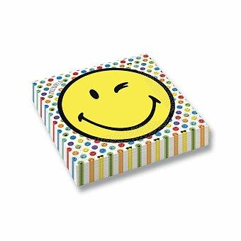 Obrázek produktu Papírové ubrousky Smiley World - 33 x 33 cm, 16 ks