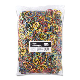 Obrázek produktu Barevné kroužkové gumičky - průměr 4 cm