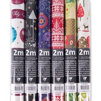Obrázek produktu Dárkový balicí papír Alliance Christmas - 2 x 0,7 m, mix motivů