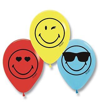 Obrázek produktu Nafukovací balónky SmileyWorld (6 ks), mix - 6 ks