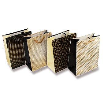 Obrázek produktu Dárková taška Žíhané motivy - různé rozměry, mix motivů