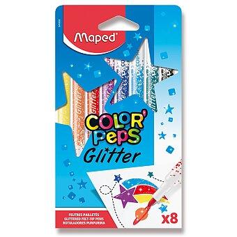 Obrázek produktu Fixy Maped Glitter - 8 barev
