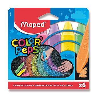 Obrázek produktu Křídy na chodník Maped - 6 barvy