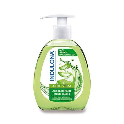 Obrázek produktu Indulona - antibakteriální tekuté mýdlo - 300 ml, Aloe Vera s čajovníkem