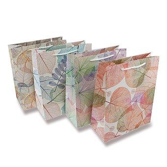 Obrázek produktu Dárková taška Listy - různé rozměry, mix motivů