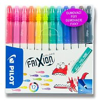 Gumovací fixy FriXion Colors