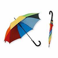 DONALD - polyesterový vystřelovací deštník, 8 panelů, výběr barev