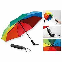 MEDLEY - polyesterový skládací deštník, open/close, 8 panelů