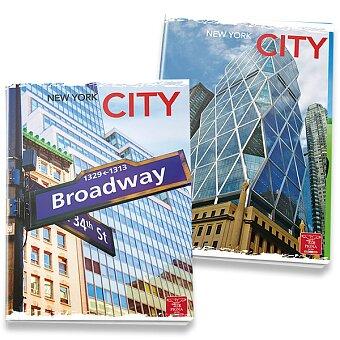 Obrázek produktu Školní sešit Pigna City - A4, linkovaný, 40 listů, mix motivů
