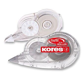 Obrázek produktu Korekční strojek Kores Refill Roller - 4,2 mm x 10 m, celý strojek nebo náhradní náplň náplň