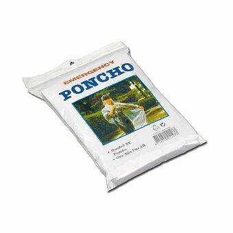 Obrázek produktu EZRA - igelitová pláštěnka, transp., frosty bílá