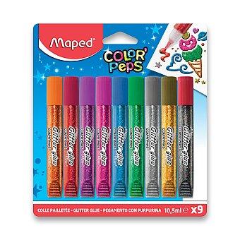 Obrázek produktu Dekorační lepidlo Maped Glitter Glue - 9 x 10,5 ml