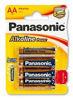 Obrázek produktu Baterie Panasonic Alkaline Power - AA, 4 ks
