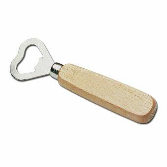 Obrázek produktu HOLZ - dřevěný otvírák na lahve, chrom
