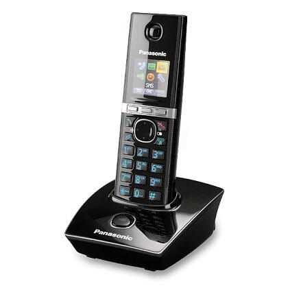Obrázek produktu Panasonic KX-TG 8051FXB - bezdrátový telefon