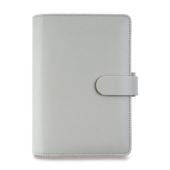 Obrázek produktu Osobní diář Filofax Saffiano Compact A6 - šedý